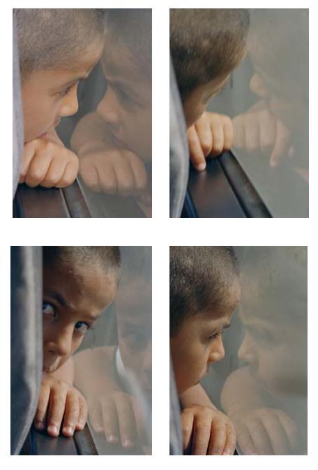 Peace and Love (Palestine, 2000). Photo Credit: Ahlam Shibli.