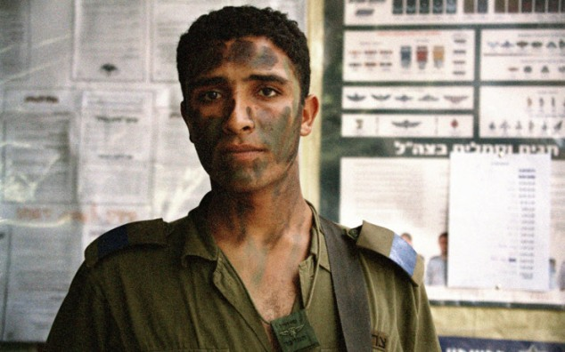 Trackers (2005). This collection photographed Palestinian-Israeli citizens who serve in the IDF. Photo Credit: Ahlam Shibli.