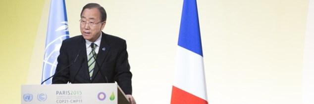 Ban Ki-Moon Closing Address at COP21 Action Day