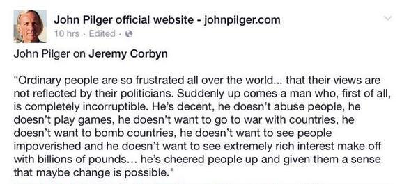 pilger corbyn