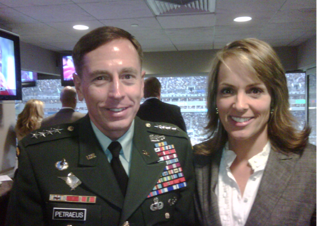 Petraeus with Broadwell